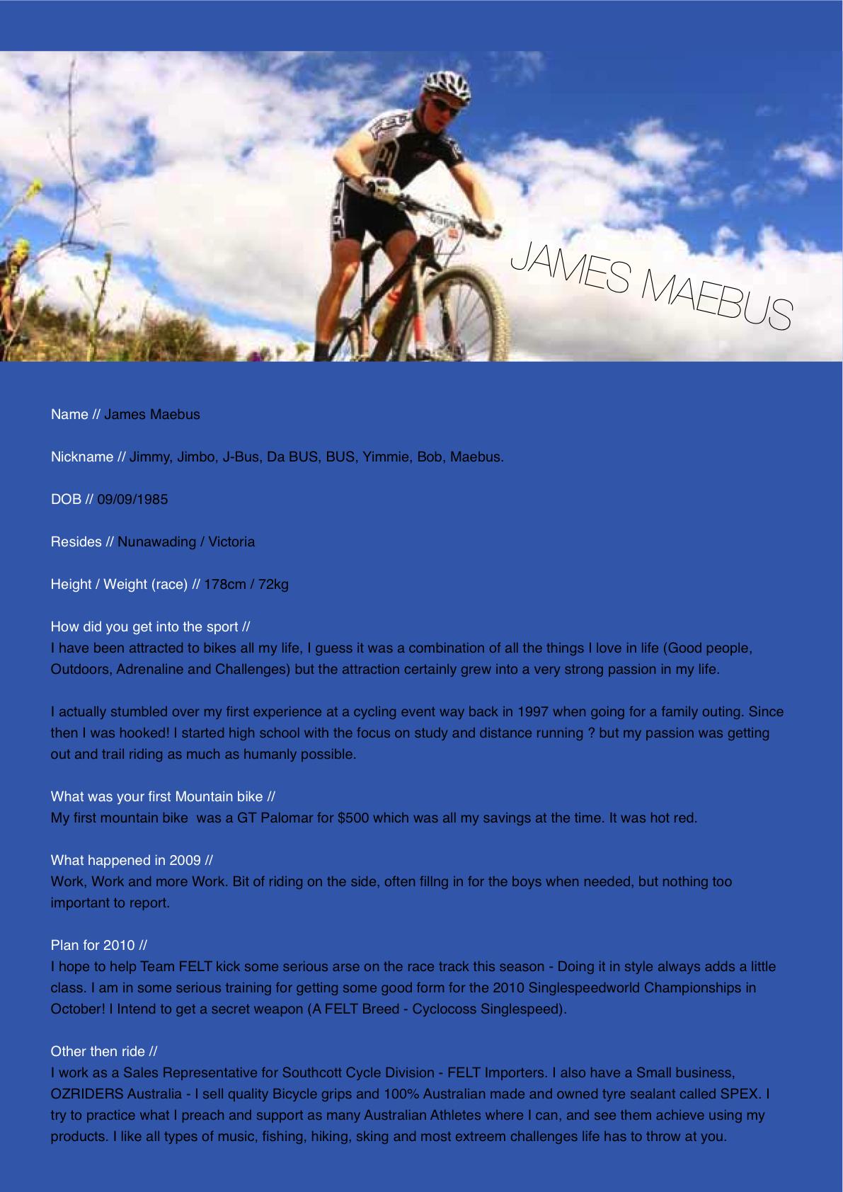 Riders | FELT SRAM Racing